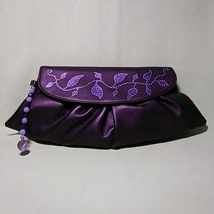 Handbags - NY & Co Clutch Wristlet bag Hand Painted👜👜